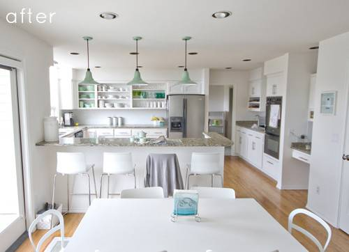Before After Kitchen Makeover Design Sponge