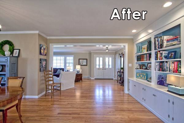 Before After Ranch Home Makeover Mosby Building