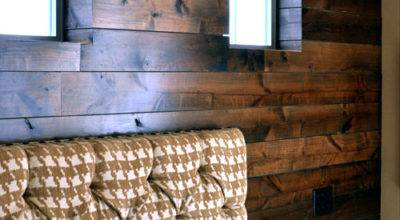Before After Wood Paneled Accent Wall Design Sponge