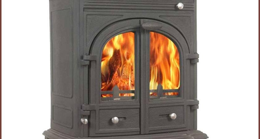 Bernese Log Burner Stove Pipe Multifuel