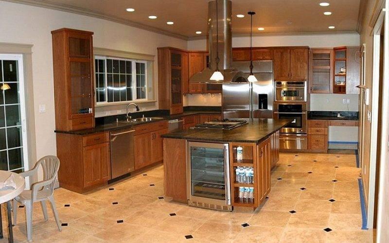 Best Flooring Kitchen Design Tile