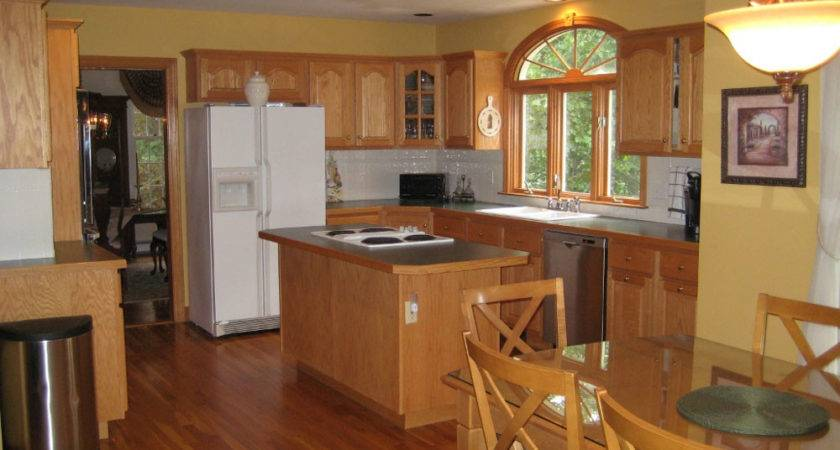 Best Kitchen Paint Colors Oak Cabinets