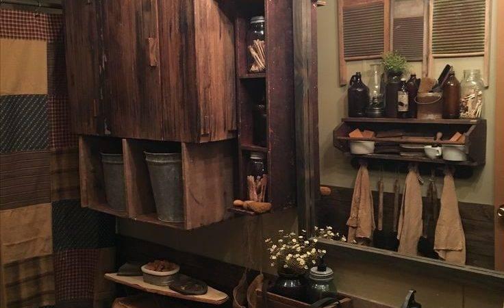 Best Primitive Bathroom Decor Ideas Pinterest