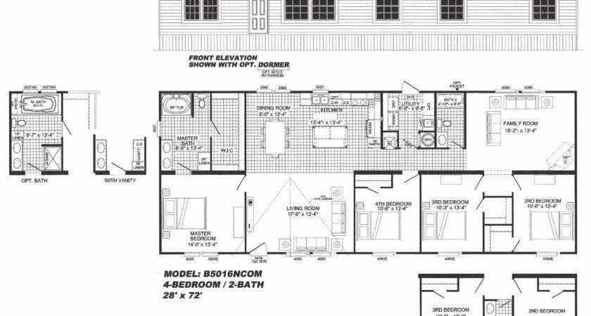 Best Single Wide Mobile Homes Floor Plans Home