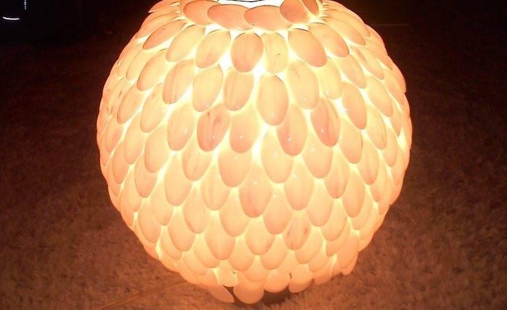 Best Spoon Lamp Ideas Pinterest Plastic