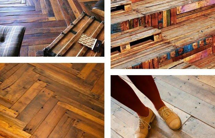 Best Wood Pallet Flooring Ideas Pinterest