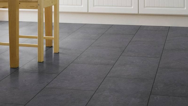 Black Slate Tile Contemporary Floor Tiles Dallas