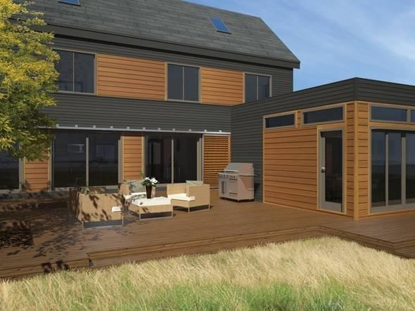 Blu Homes Lofthouse Prefab Home Modernprefabs