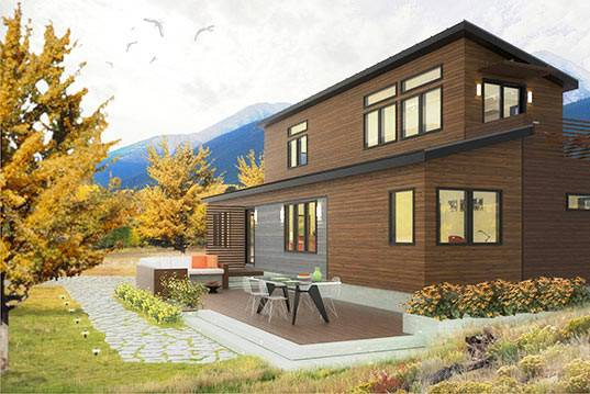 Blu Homes Releases Plans Their Two Story Prefab Home