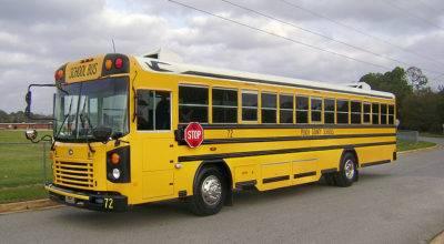 Blue Bird Bus Peach County Model