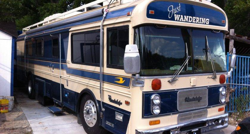 Bluebird Wanderlodge Motorhome Terry Sayther Automotive