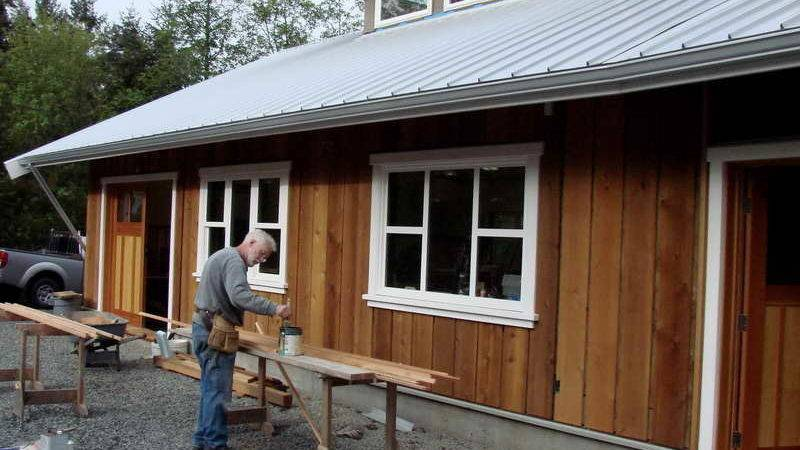 Board Batten Wood Siding Simple Inexpensive Options