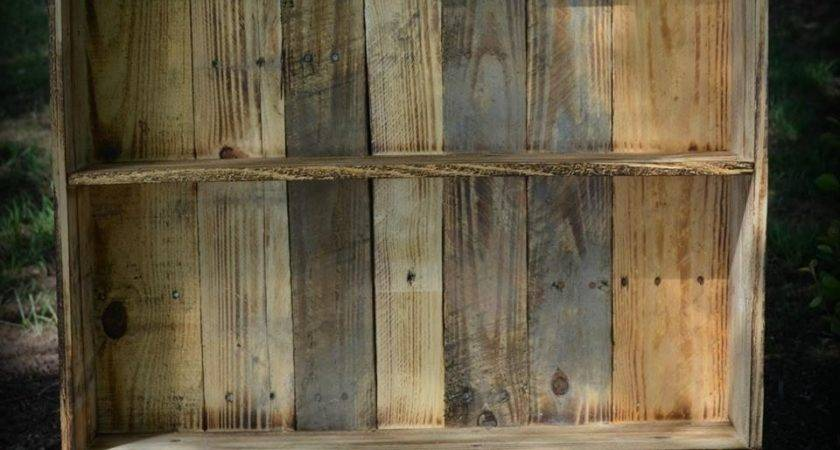 Bookshelves Made Out Pallets American Hwy