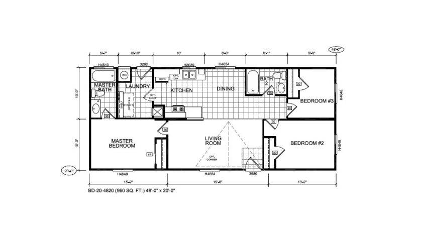 Bradford Triple Section Home Silvercrest Bestofhouse