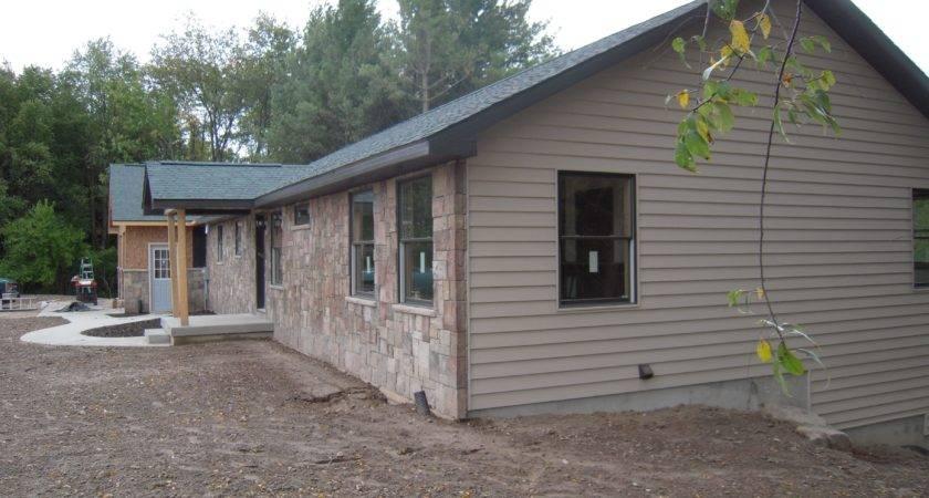 Brick Exterior Modular Home Custom Plan