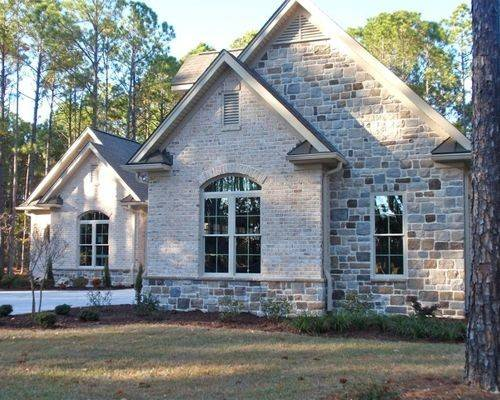 Brick Stone Combination Houzz