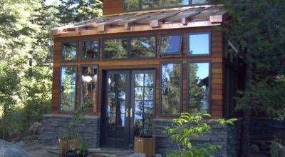 Brockway Greenhouse Addition Contemporary Exterior