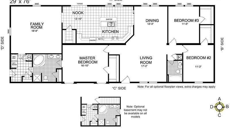 Buccaneer Manufactured Homes Floor Plans Modern Modular Home