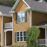 Buckskin Cedar Vinyl Shake Siding Factory Direct