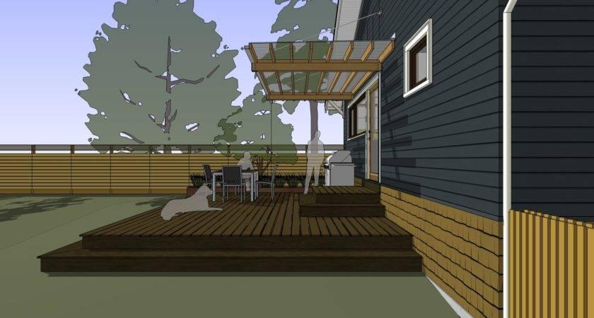 Build Awning Deck Aluminum