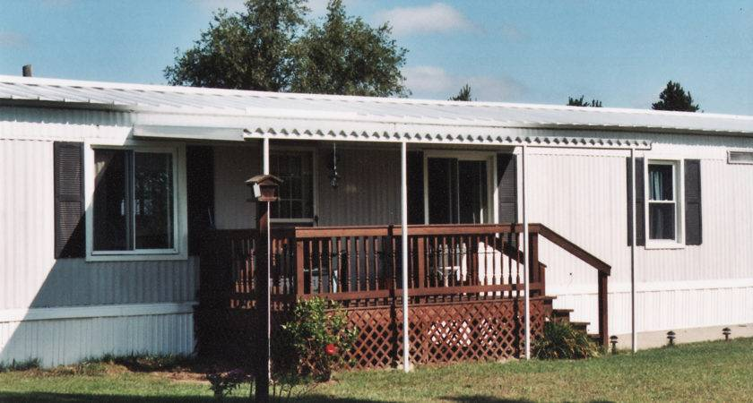 Build Awning Over Deck Mobile Homes Metal