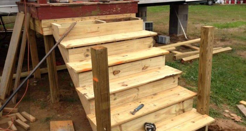 Build Deck Onto Used Mobile Home Youtube Bestofhouse