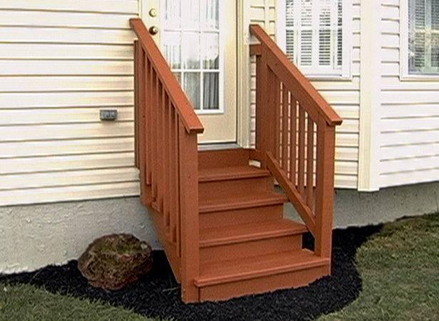 Build Exterior Stairs Tos Diy