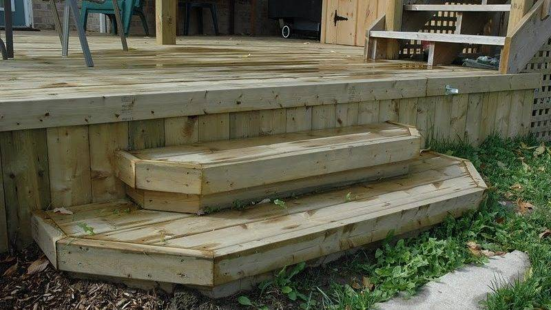 Build Freestanding Deck Step Search
