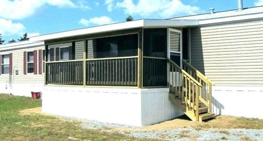 Build Front Porch Mobile Home