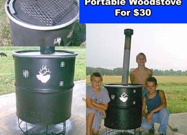 Build Portable Woodstove