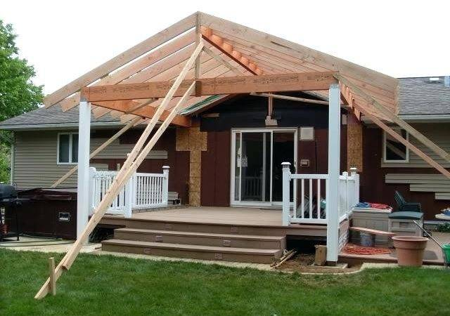Build Roof Over Deck Gable
