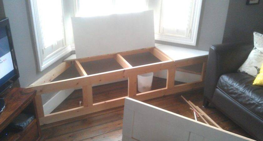 Build Storage Bench Window Seat Discover Woodworking