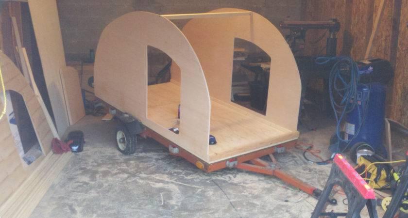 Build Teardrop Trailer Building Camper