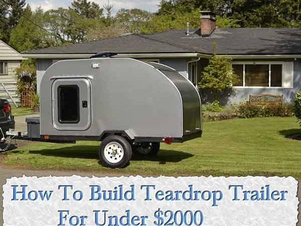Build Teardrop Trailer Built Kitchen