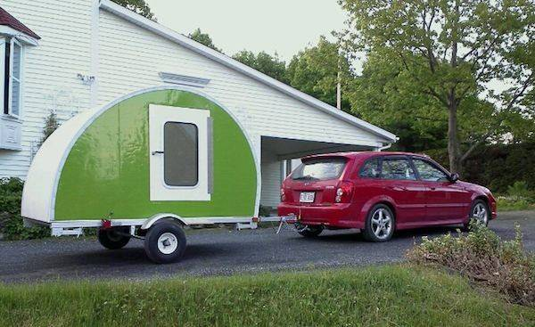 Build Your Own Ultra Lightweight Micro Camper