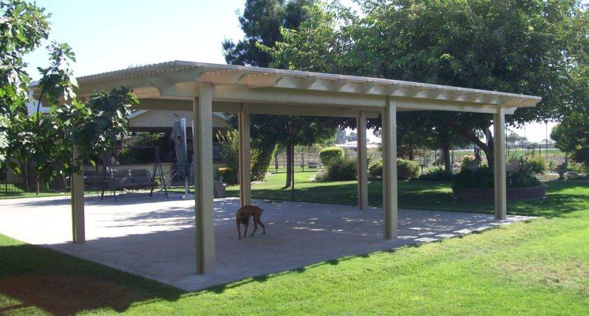 Building Freestanding Patio Cover