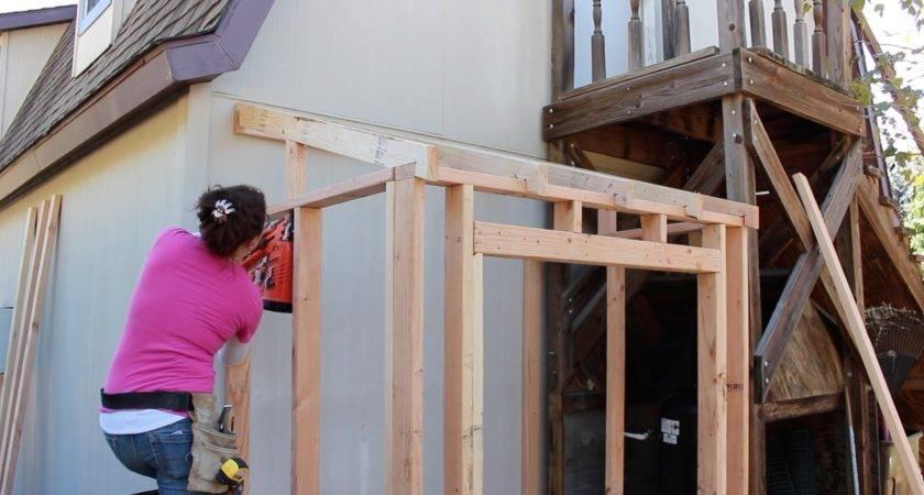 Building Lean Shed Framing Siding Wilker