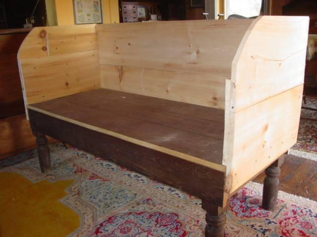 Building Primitive Couch