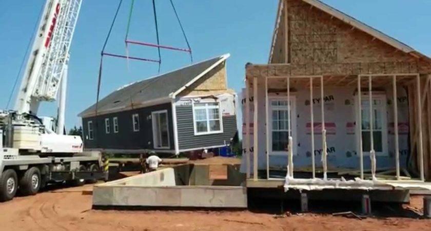 Burlington Pei Modular Home Setup Youtube