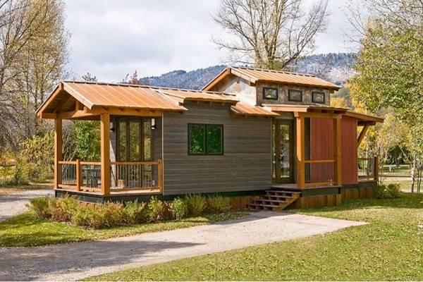 Caboose Cabin Wheelhaus