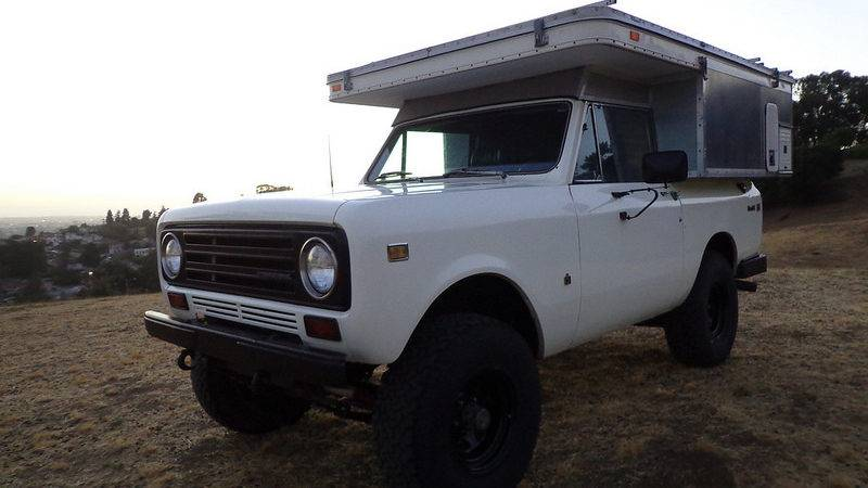 Camperized International Scout Sale