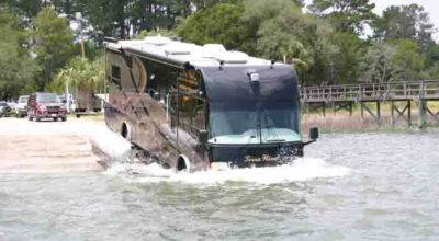 Can Your New Motorhome Drive Water Chat Ron