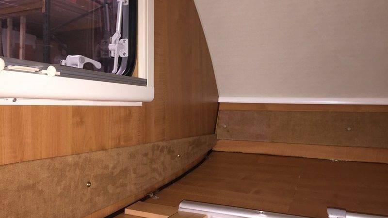 Caravan Motorhome Damp Repairs Devon