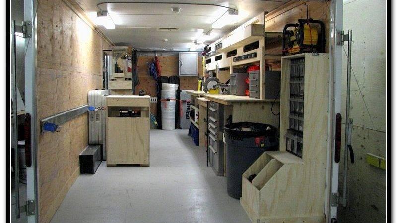 Cargo Trailer Shelves Contractor Forum Home Design Ideas
