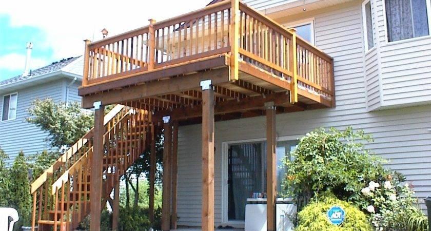 Cedar Deck Rails Westwinds Remodelingwestwinds
