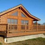 Cedar Log Siding Woodhaven