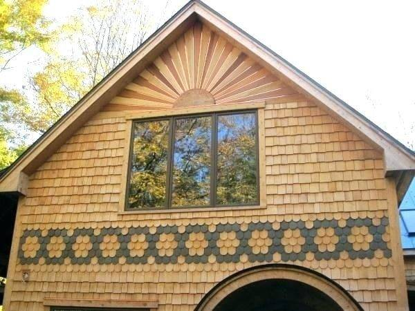 Cedar Shingle Siding Shake Panels