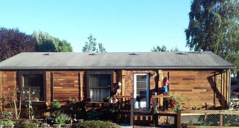 Cedar Siding Manufactured Homes Reclaimed