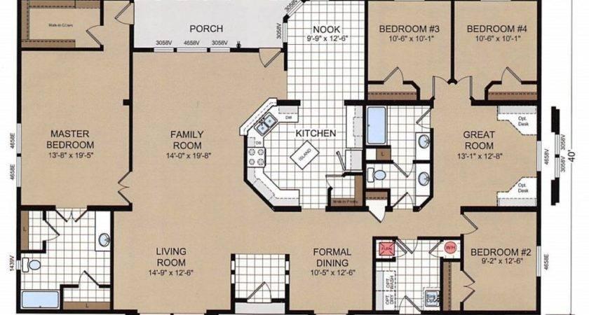 Champion Mobile Home Floor Plans Luxury Bedroom Double