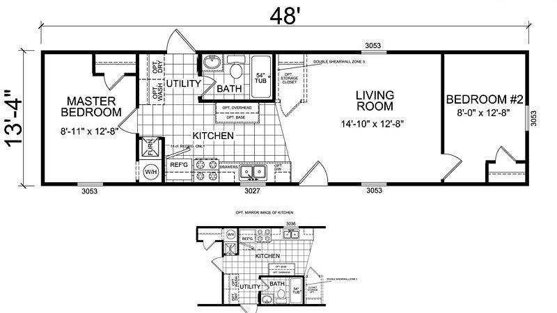 Champion Mobile Homes Floor Plans Cavareno Home